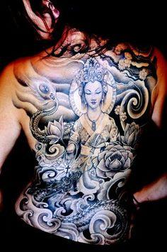 Tattoo artist Corey Miller