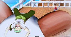 Zoro and Luffy