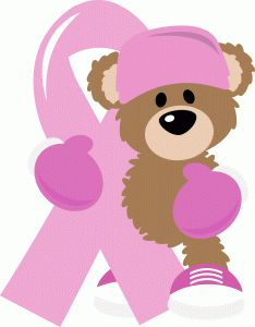 Silhouette Design Store: Fight Breast Cancer Bear With Ribbon Tribal Tattoos, Tattoos Skull, Breast Cancer Support, Breast Cancer Awareness, Silhouette Design, Tattoo Designs, Silhouette Online Store, Painted Rocks, Easter Eggs