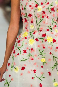 Trust Us: You've Never Gotten This Close to the Clothes at Fashion Week: If you aren't a member of the fashion industry elite, for whom snagging front-row seats to the best runway shows is de rigueur, then let us fill you in on a little secret: if you are hoping to get an up-close look at your favorite designer's wares, the best seat in the house is right here.