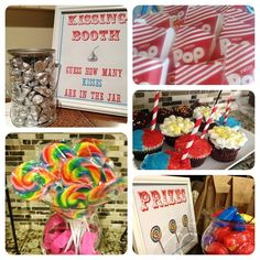 A fun carnival party for kids with DIY games, easy prizes, yummy treats, activities for all ages, free printables and more!