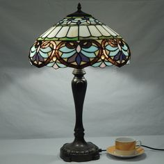 Baroque Tiffany Lamp	16S6-3T246