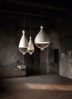Edmondo Testaguzza - Le Trulle: a collection of suspended lamps