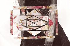 Semi-geometric collage by Claire Clift Claire, My Arts, Collage, Quilts, Blanket, Collages, Quilt Sets, Collage Art, Blankets