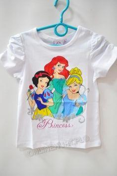 Bluzka dziecięca Księżniczki Disney 42115  _A12  (3-8)