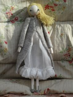 lovely Sarah Strachan doll for The Cross
