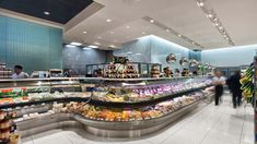 Pusateris gourmet store by GH+A Design, Toronto store design