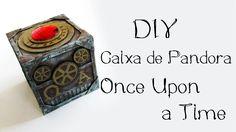 DIY: Caixa de Pandora - ONCE UPON A TIME (Pandora' Box Tutorial - OUAT)