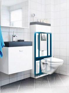 SANIWALL sanitrit para inodoro suspendido . Como instalar un baño sin bajantes cerca. Toda la info en 10Deco.com