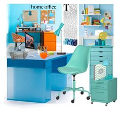 """Home Office"" by marionmeyer on Polyvore featuring interior, interiors, interior design, Zuhause, home decor, interior decorating, Home Decorators Collection, Room Essentials, Apple und Waechtersbach"