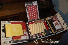 Disney Mini Album 9 x 8 Say Cheese Simple Stories