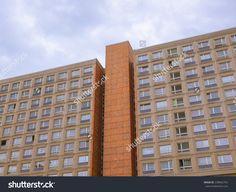 Buildings in Alexander Platz Berlin designed by architect Peter Behrens