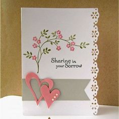 Metal Cutting Dies Embossing Stencils DIY Scrapbooking For Photo Album Decor 852523457362 Stamping Up Cards, Prayer Cards, Get Well Cards, Flower Cards, Butterfly Cards, Creative Cards, Cute Cards, Scrapbook Cards, Scrapbooking Layouts