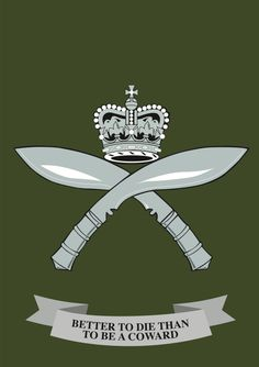 The Royal Gurkha Rifles Regiment Motto. British Armed Forces, British Soldier, Canadian Army, British Army, Sas Special Forces, Malayan Emergency, Warrior Spirit, Military Insignia, Royal Marines