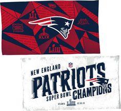 e1f91e45d61 WinCraft Liii Champions New England Locker Room Towel Team Logo Design