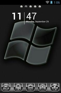 тема на андроид ламборджини логотип