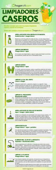 #EcoTip #RetoVerde Limpiadores caseros ecológicos...