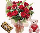 Teddy, rose and with chocolate to Hyderabad delivery. Cheapest price range from others website. Secured online payments and low price range. Visit our site : www.flowersgiftshyderabad.com