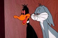 Daffy Duck and Bugs Bunny (Looney Tunes) high as fuck Cartoon Cartoon, Cartoon Kunst, Cartoon Characters, Easy Cartoon, Cartoon Wallpaper, Bux Bunny, Rauch Fotografie, Vintage Cartoons, Stoner Art
