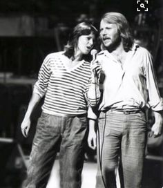 My fab and talented couple Anni Frid Benny ABBA