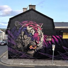 Waterford, Ireland, piece by Sonny Sundancer for Waterford Walls.