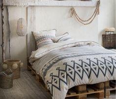 Bavlnené posteľné obliečky so vzorom Hippie Chic, Decoration, Comforters, Capri, Blanket, Furniture, Instagram, Fibre, Home Decor