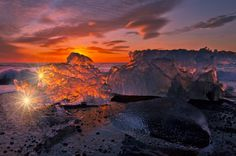 Ice on Fire  by Iurie  Belegurschi, via 500px