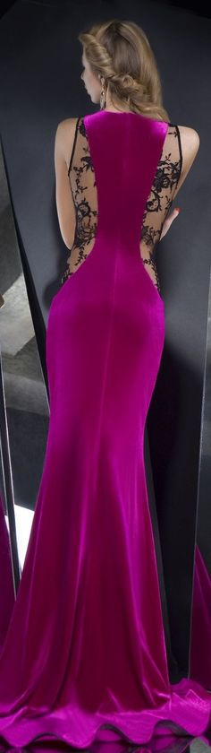 The Back Of This Dress Definitely Makes A Statement & The Color Is Beautiful