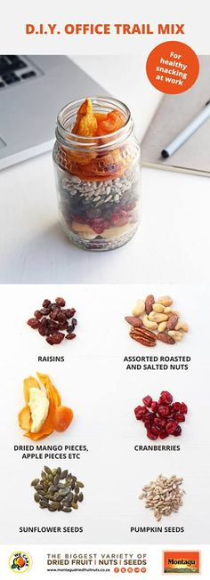 Dried Mangoes, Dried Fruit, Snacks For Work, It's Easy, Raisin, Healthy Snacks, Healthy Lifestyle, Trail, Roast