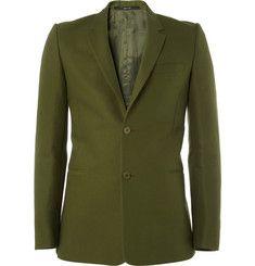 Givenchy Slim-Fit Cotton Blazer   MR PORTER