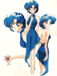 Blue Sailor Mercury by brolyss4