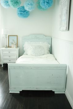 ... in the fun lane: Wren's Big Girl Bed
