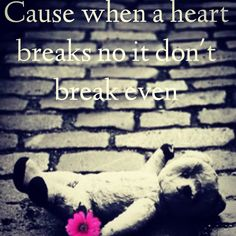 Breakeven/ the script/ lyrics