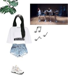 Discover outfit ideas for made with the shoplook outfit maker. Casual School Outfits, Stage Outfits, Dance Outfits, Outfits For Teens, Girl Outfits, Cute Outfits, Dance Practice Outfits, Korean Outfits Kpop, Kpop Fashion Outfits