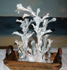 sea shell sculpture