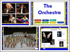 The Orchestra / SMARTBoard lesson and activities. Includes many resources and activities for multiple grade levels.