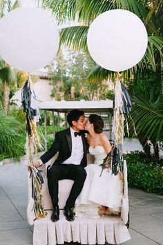 Ni una boda sin globos