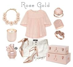 """""""Rose Gold Jewelry"""" by hideous ❤ liked on Polyvore featuring Hollister Co., Étoile Isabel Marant, J.Crew, Viktor & Rolf, Effy Jewelry, Jonathan Adler, Boden, Anne Sisteron, Lavish by TJM and contest"""