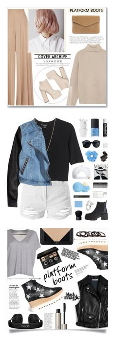 """Winners for Kickin' It: Platform Boots"" by polyvore ❤ liked on Polyvore featuring Victoria Beckham, The Row, Laurence Dacade, PlatformBoots, Topshop, Monki, Minor Obsessions, H&M, NARS Cosmetics and Chapstick"