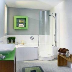 Jika luas kamar mandi terbatas, maka desain, memliki arti penting agar meskipun berukuran kecil, kamar mandi tetap nyaman digunakan.