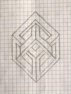 Beautiful Rangoli Designs, Pixel Art, Blackwork, Doodle Art, Graph Paper Drawings, Tatto, Optical Illusions Art, Art, Paper Drawing