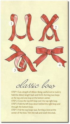 How To Make Bows   Ideas From Creative Home Magazine