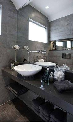 Dream bathrooms: design ideas to revamp your space Minimal Bathroom, Small Bathroom, Bathroom Ideas, Bathroom Designs, Bathroom Organization, Shower Bathroom, Bathroom Closet, Bathroom Plants, Boho Bathroom