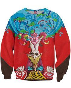 Corpus Collosum Crewneck Sweatshirt  | Mopixiestore.com