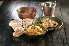 Arroz basmati al curry rojo con gambas a la miel   Sundari Blog