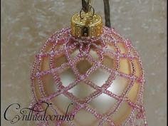 Large Beaded Ornament ~ Part 2 of 2 - YouTube