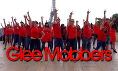 Final Glee Flash Mob (Best-Of) in Paris - June 1st 2014