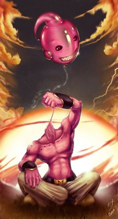 Pop, goes the evil Majin Booble, by Osman Fernandez Vides.