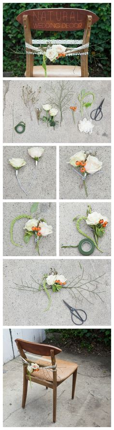 DIY Natural Wedding Decor