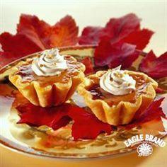 Harvest Pumpkin Tarts from Eagle Brand®